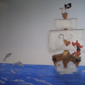 chambre pirate capitaine crochet
